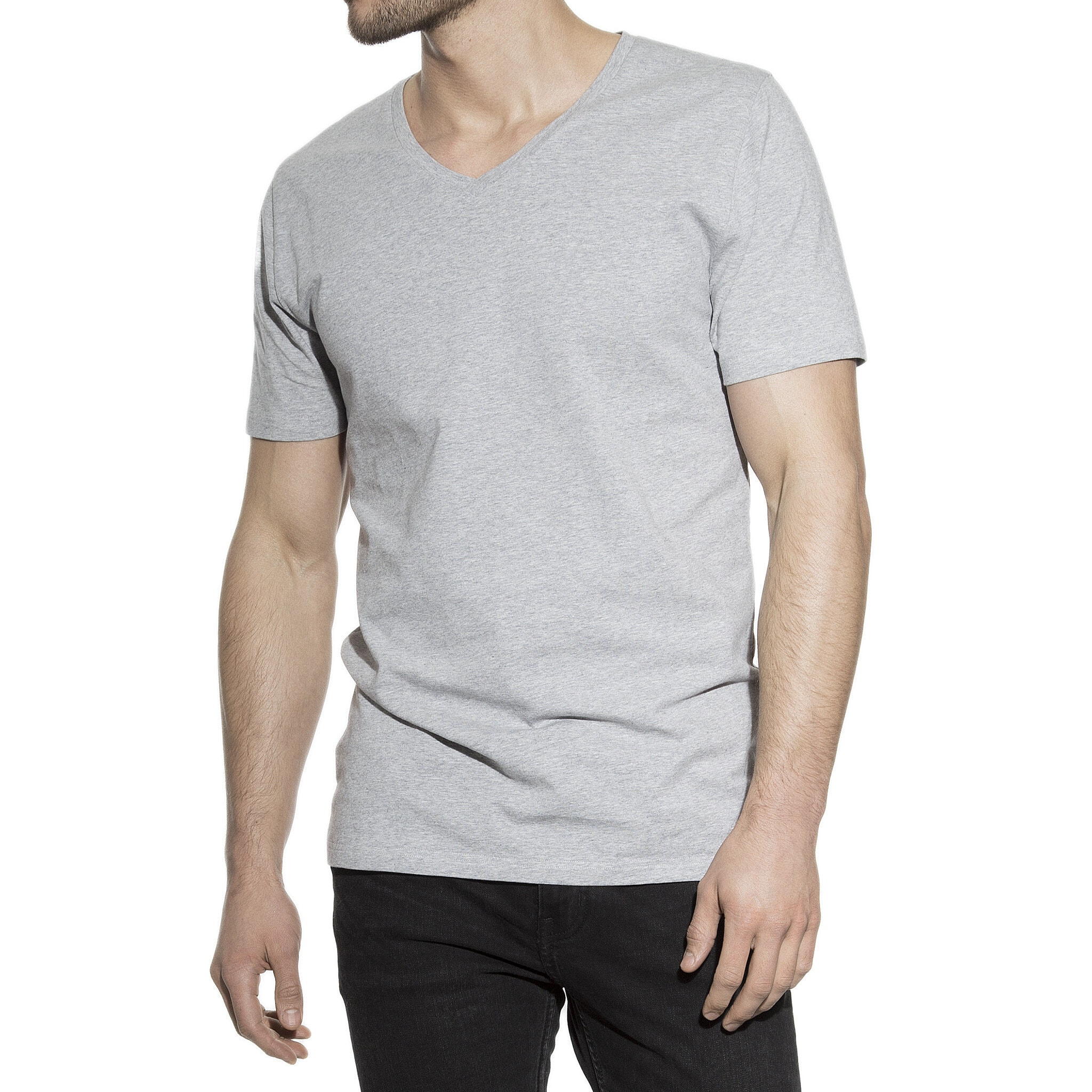 102203_Man_V-Neck_grey-melange_1